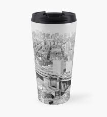 Taza de viaje Manhattan Black and White Photograph