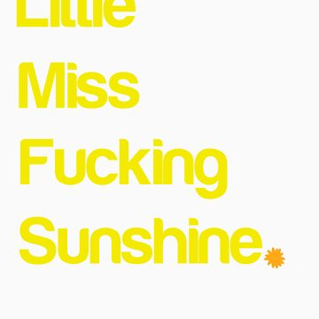 Little miss sunshine by HappyMassacre