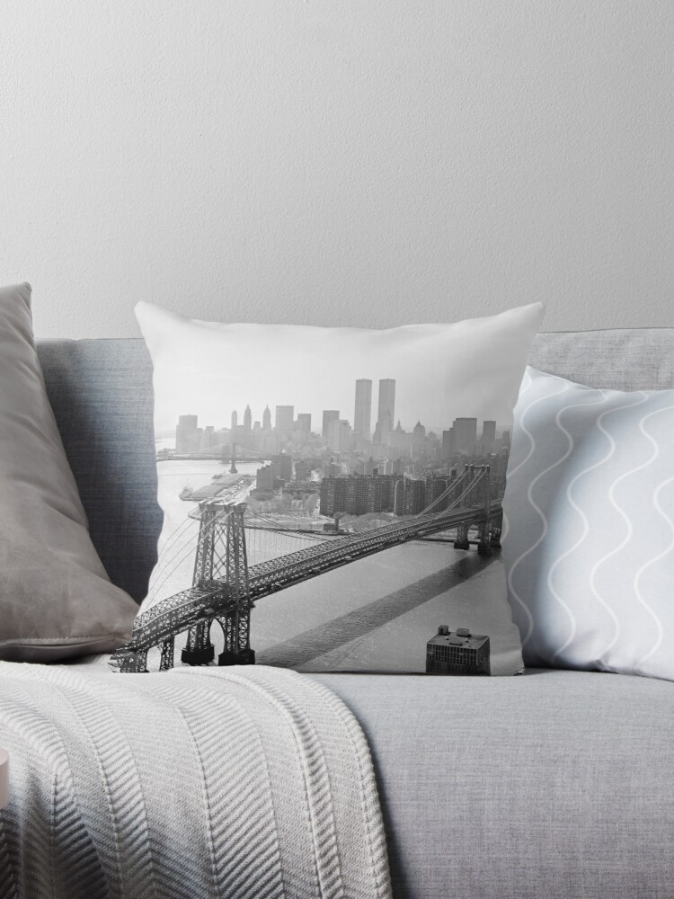 «Photograph of NYC and The Williamsburg Bridge» de BravuraMedia
