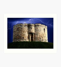 Cliffords Tower Art Print