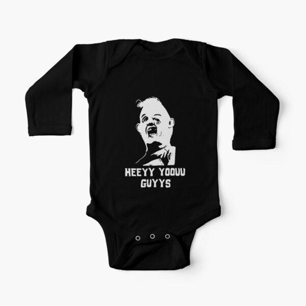 Goonies Sloth  Long Sleeve Baby One-Piece