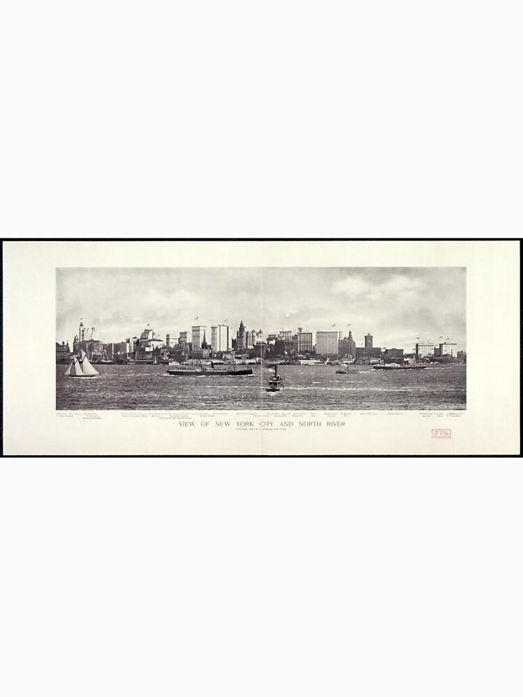 View of New York City and The North River de BravuraMedia