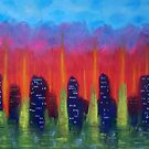 Towers and Trees No.4 by Morgan Ralston