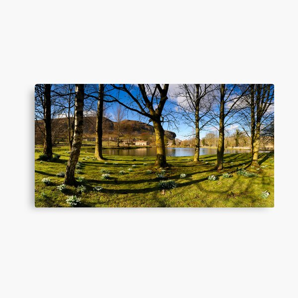 Kilnsey Crag from Kilnsey Park Panorama Canvas Print