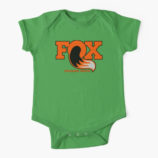 Fox Racing Shox - Orange Short Sleeve Baby One-Piece