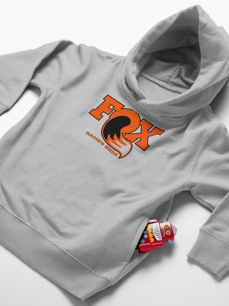 Alternate view of Fox Racing Shox - Orange Toddler Pullover Hoodie