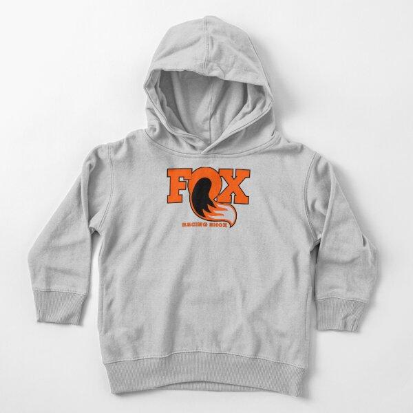Fox Racing Shox - Orange Sweat à capuche épais pour tout-petit