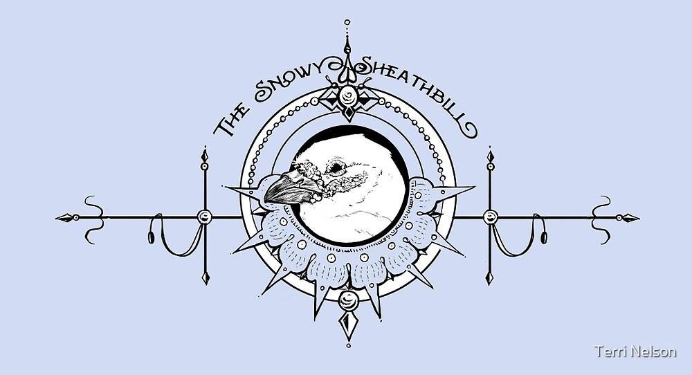 Snowy Sheathbill by Terri Nelson