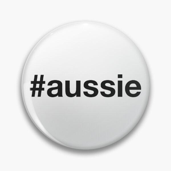 AUSTRALIA Hashtag Pin