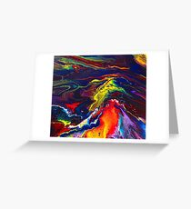 EARTH UNLEASHED Greeting Card