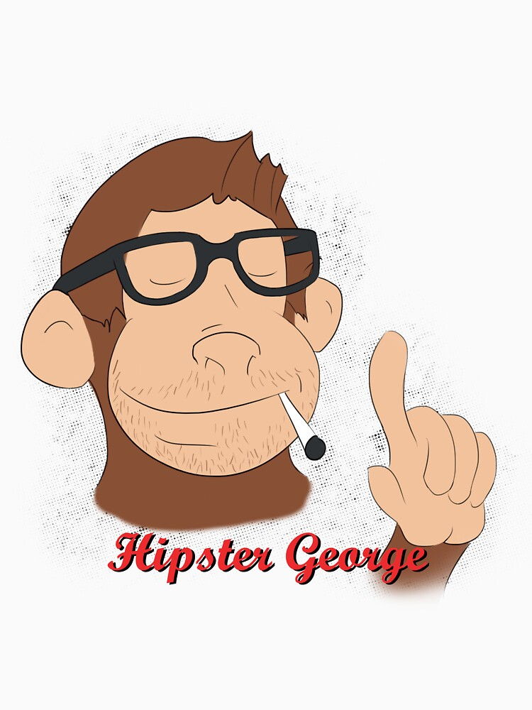 Hipster George by ChrisLilley