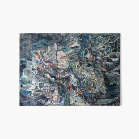 abstract landscape Art Board Print