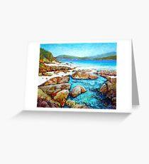 Rockpool at Chalkie's Beach Greeting Card