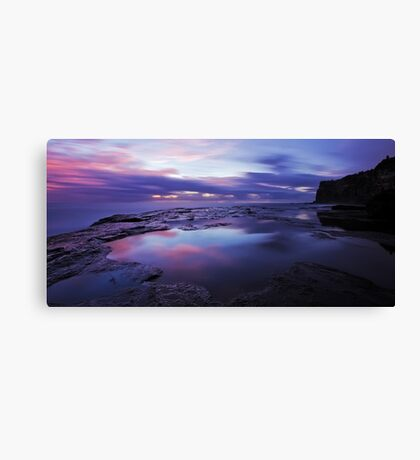 Mood in Refelctions Canvas Print