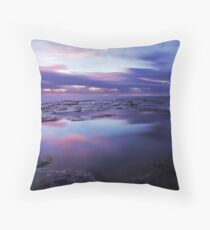Mood in Refelctions Throw Pillow