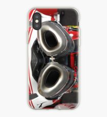 Exhaust for Ducati Factory Superbike iPhone Case iPhone Case