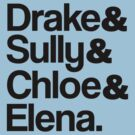 Drake & Sully & Chloe & Elena. by ScottW93
