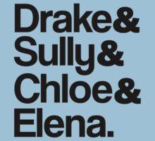 Drake & Sully & Chloe & Elena.