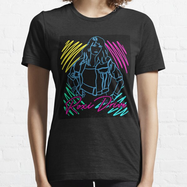 Roxi Drive Marker Art - Neon Essential T-Shirt