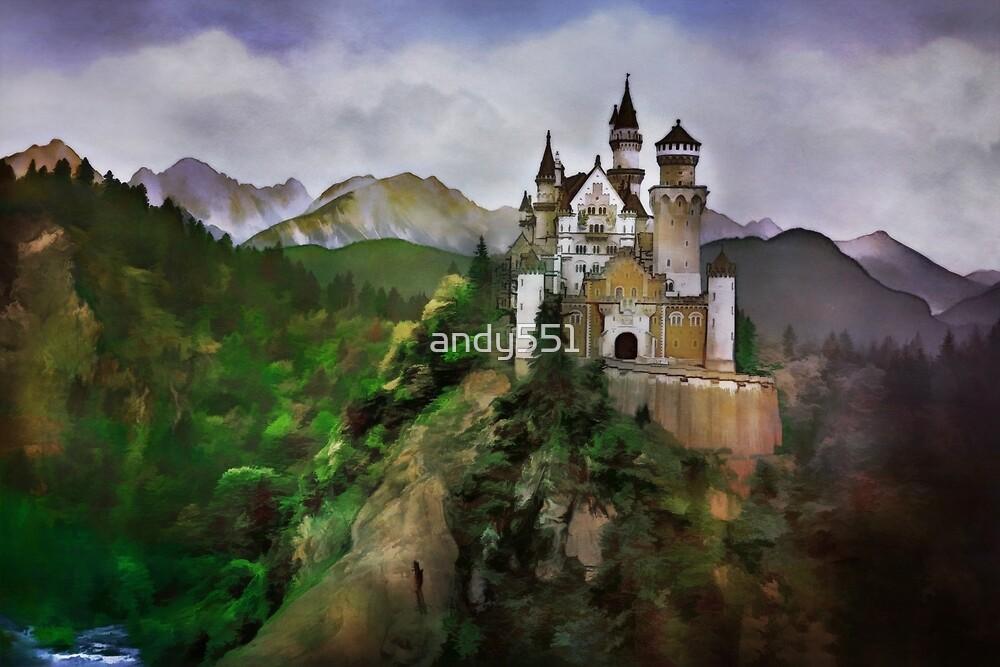 Neuschwanstein Castle by andy551