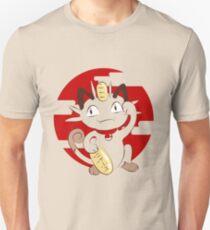 Lucky Meowth. Unisex T-Shirt