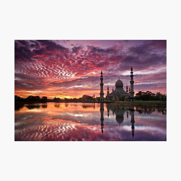 Evening Prayers Photographic Print