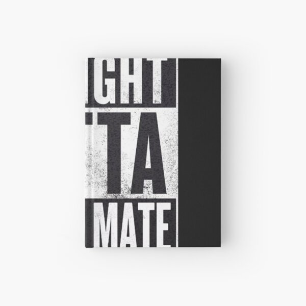 Straight Outta Straya Mate Hardcover Journal