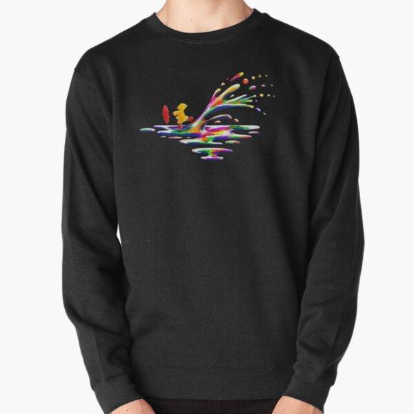 Splashing Pullover Sweatshirt