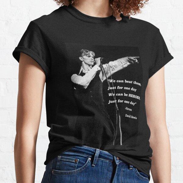David Bowie T-shirt classique
