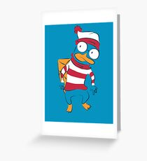 Where's Perry? Greeting Card