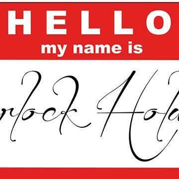 My Name is Sherlock Holmes by jjangmiki
