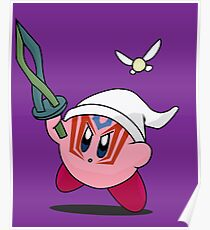 Kirby the Other World Hero Poster