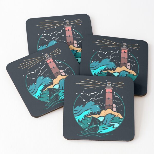 I'll Guide You Home... Coasters (Set of 4)
