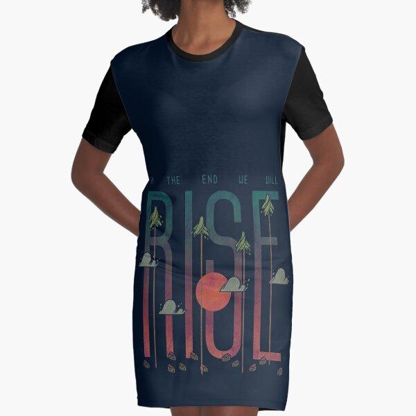 Rise Graphic T-Shirt Dress