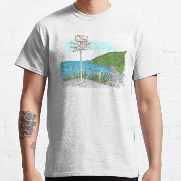 Tour Aotearoa 2020 - Stirling Point, Bluff Classic T-Shirt