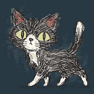 Rough sketch of a cat by sanogawa