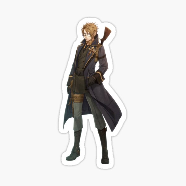Code:Realize - Abraham Van Helsing Sticker