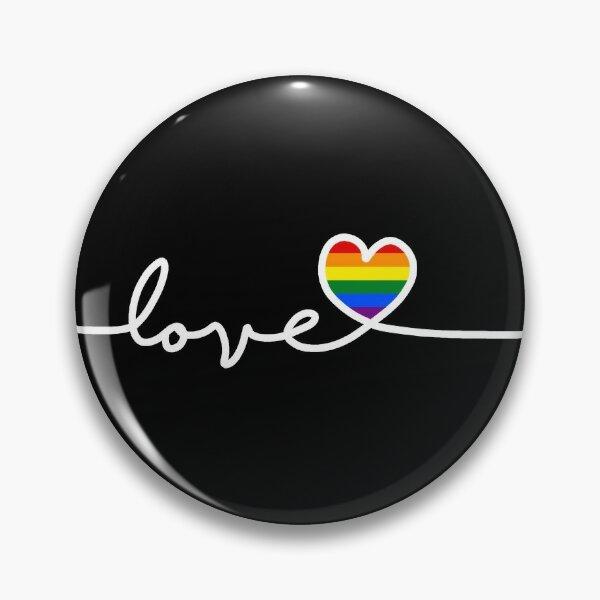 LGBT Love Pin