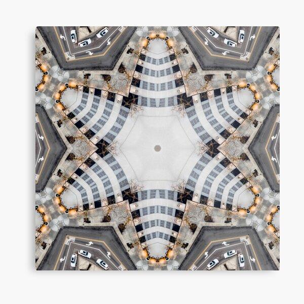 Intersection Series 6 Metal Print