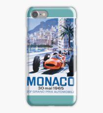 Monaco F1 Classic 1965 iPhone Case/Skin