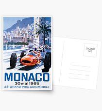 Monaco F1 Classic 1965 Postkarten