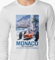 Monaco F1 Classic 1965 Long Sleeve T-Shirt