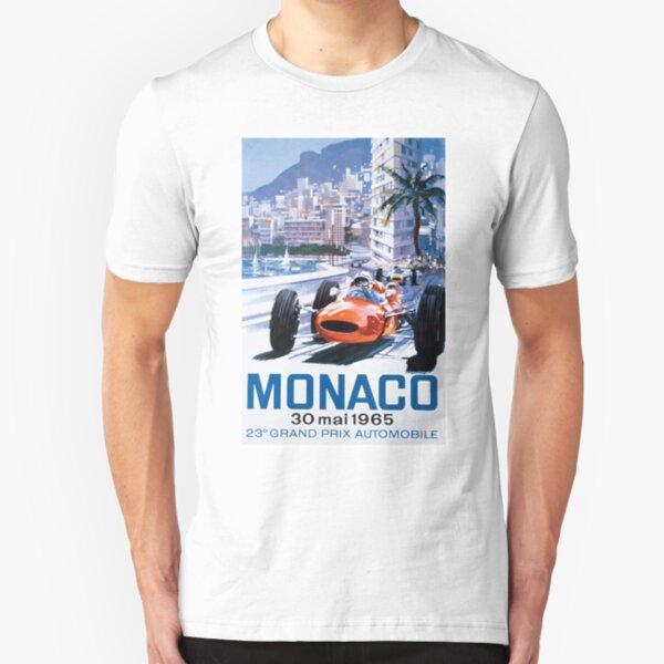 Monaco F1 Classic 1965 Slim Fit T-Shirt