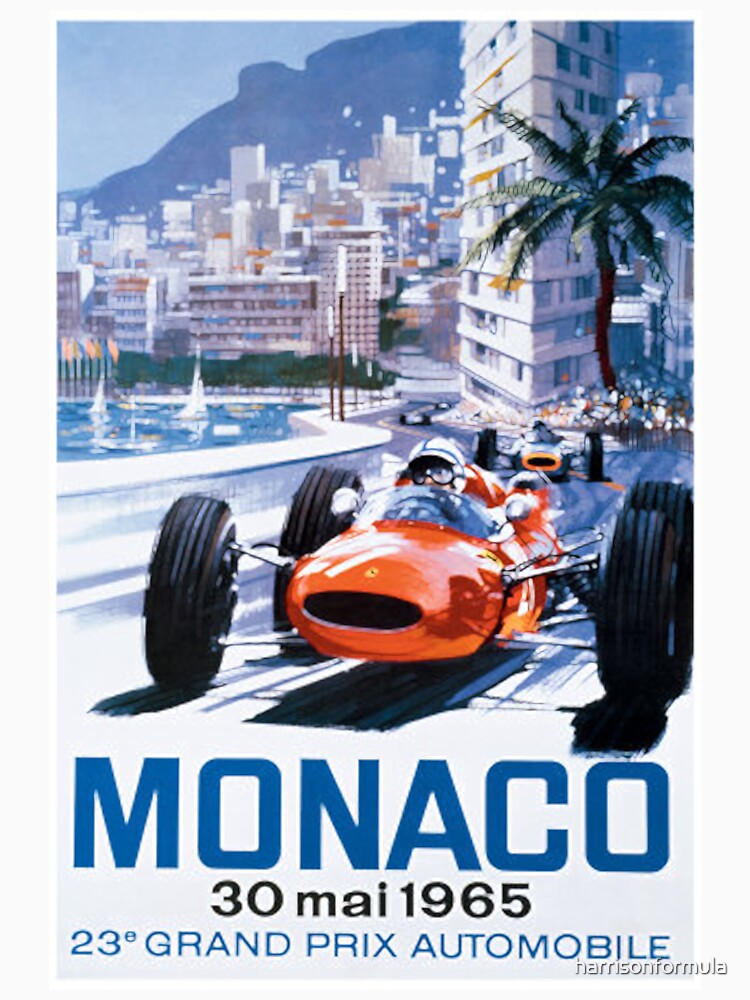 Monaco F1 Classic 1965 | Unisex T-Shirt