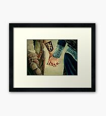 Outlaw Queen Framed Print