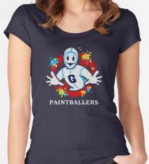 Paintballers Women's Fitted Scoop T-Shirt