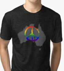 Peace in Australia T-Shirt Tri-blend T-Shirt