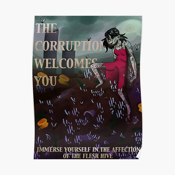 the magnus archives - the corruption recruitment poster  Poster