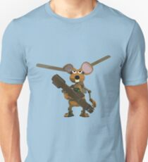 SuperMouse Helicopter 05b Unisex T-Shirt