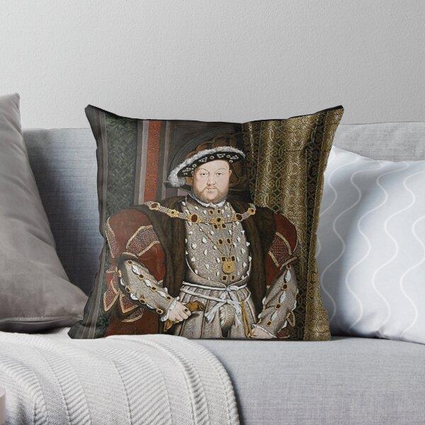Henry VIII. KING of England. Throw Pillow